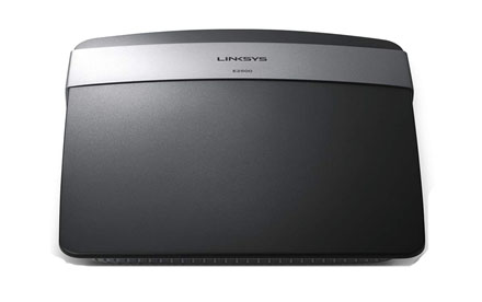 Router inalámbrico de doble banda N600 Linksys E2500