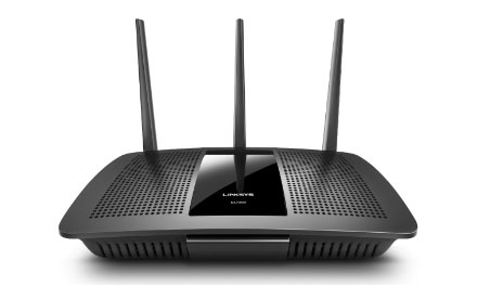 Router WiFi Gigabit MU-MIMO AC1750 MAX-STREAM Linksys EA7300