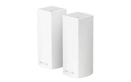 Sistema Velop Wi-Fi Intelligent Mesh tribanda de Linksys 2-Pack - WHW0302