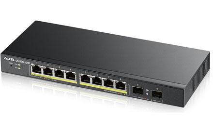 Zyxel - GS1900-10HP - Switch
