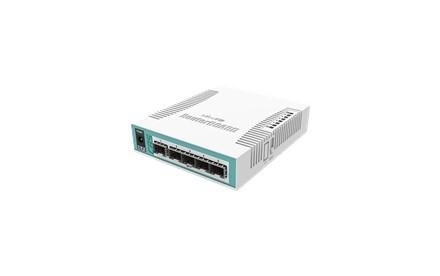 MikroTik RouterBOARD Cloud Router Switch CRS106-1C-5S - Conmutador - inteligente