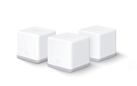 Router Mercusys Sistema Wi-Fi de malla para todo el hogar a 300 Mbps Halo S3 (3-pack)