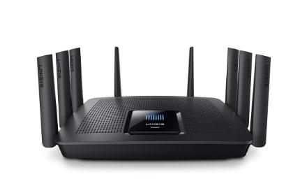 "Router Wi-Fi Gigabit MU-MIMO AC5400 Max-Streamâ""¢ Linksys EA9500"