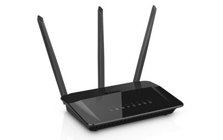 D-Link - AC1750 High Power Wi-Fi Gigabit Router - DIR‑859