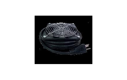 Nexxt Solutions - Unidad de ventilación - CA 100-240 V - negro
