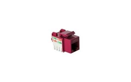 Nexxt - Inserto modular - RJ-45 - rojo
