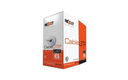 Nexxt Cable UTP Cat6 - Azul ó Gris