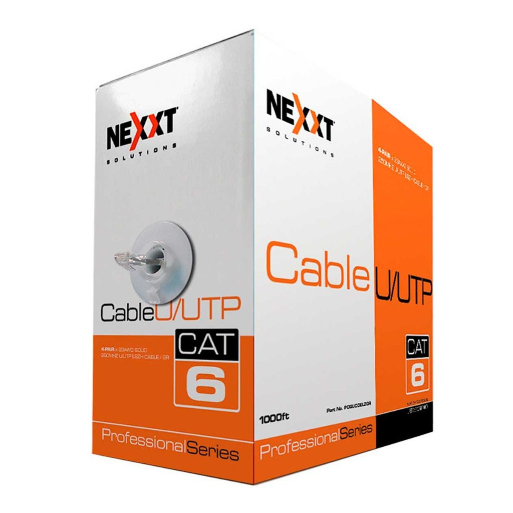 Nexxt Cable UTP Cat6 - Gris