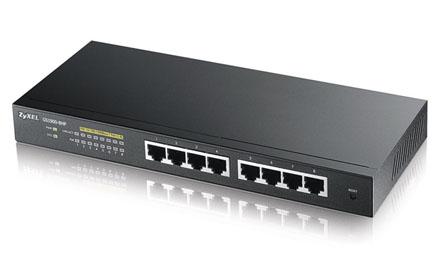 Zyxel - GS1900-8HP - Switch