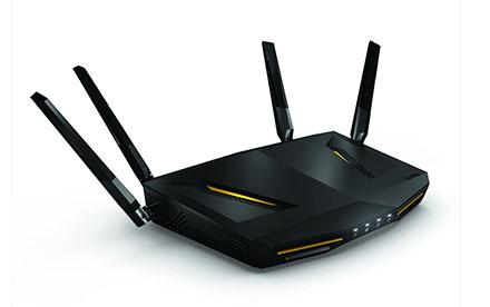ZyXEL Armor Wireless Router para videojuegos y medios de comunicación
