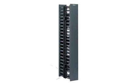 Netlinks - Organizador de cable vertical 1 mts ORG03VER