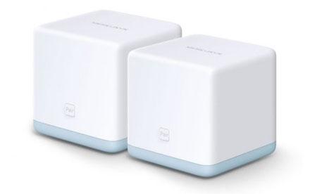 Router Mercusys Halo S12 Sistema Wi-Fi Mesh AC1200 Pack 2 Unidades