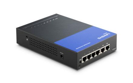 Router VPN Gigabit para empresas Linksys LRT214