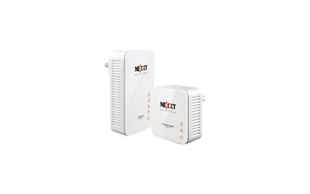 Nexxt Sparx201-W - Wireless powerline adapter kit - puente