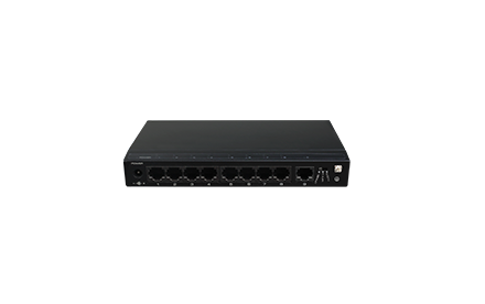 Switch / 8 + 1 Puertas / PoE / 100Mbps / UTEPO /SF9P-HM