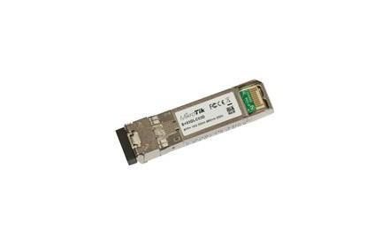 MikroTik S+85DLC03D - Módulo de transceptor SFP+ - 10 Gigabit Ethernet