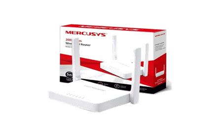 MERCUSYS 300Mbps WIRELESS N ROUTER - MW301R