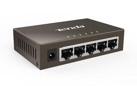 Conmutador Gigabit Ethernet de 5 puertos - Tenda - TEG1005D