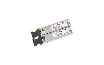 MikroTik S-3553LC20D - Kit - módulo de transceptor SFP (mini-GBIC)