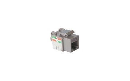 Nexxt - Inserto modular - RJ-45 - gris